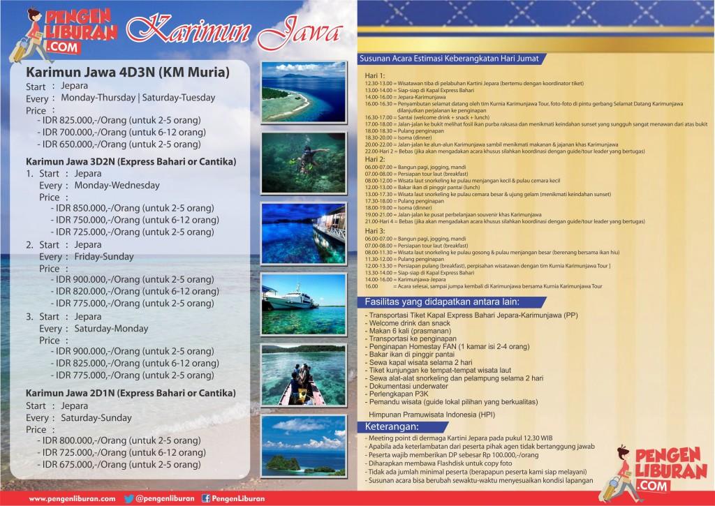 paket wisata karimunjawa murah jepara