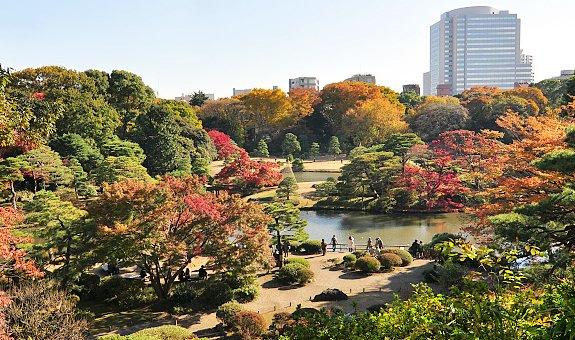 wisata jepang taman rikugien tokyo