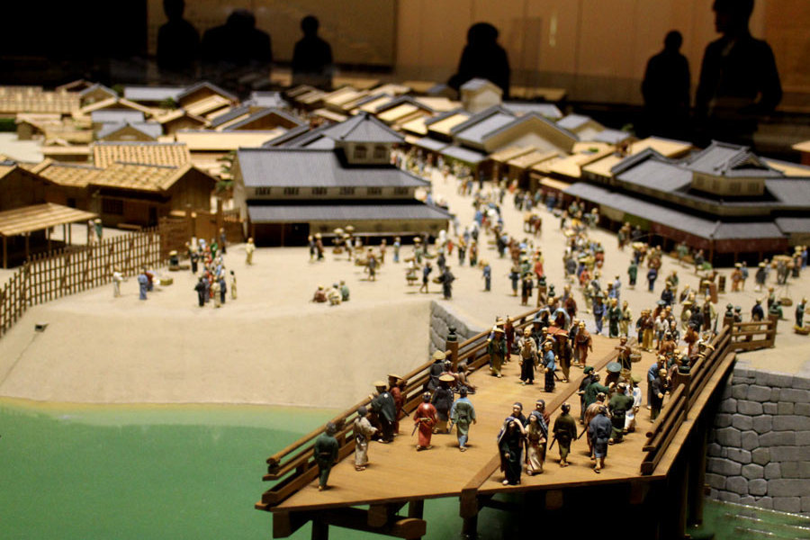Diorama Situasi Kuno Kota Edo