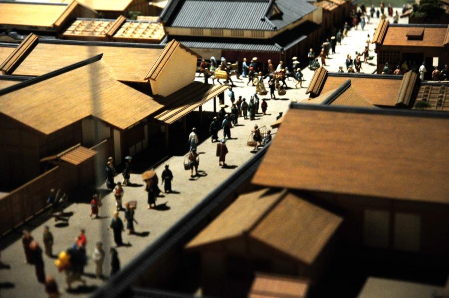 Diorama Situasi Kuno Edo