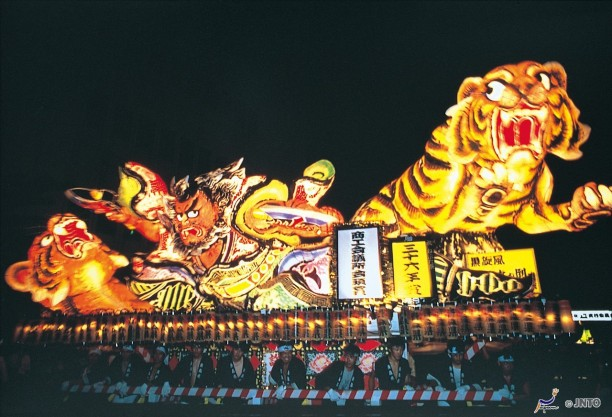 festival warna warni jepang aomori