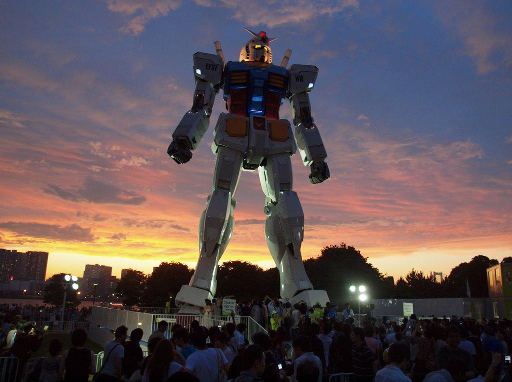 Patung Gundam, Odaiba