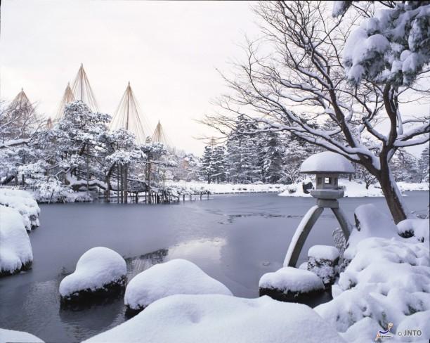 kenroku-en kanazawa , ishokawa prefecture