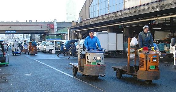 wisata jepang tsukiji fish market tokyo