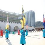 Prosesi Pergantian Prajurit Penjaga di Gyeongbokgung