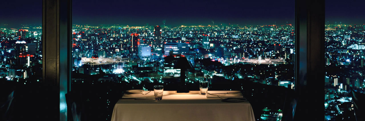 Tokyo Night View from New York Bar