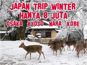 tour ke jepang winter 8 juta