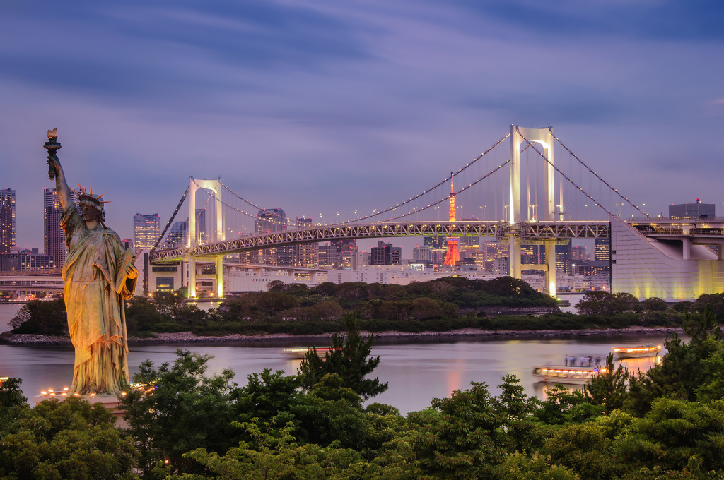 Rainbow Bridge of Odaiba