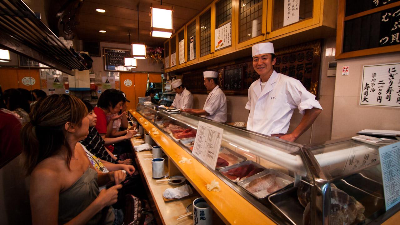 Sushi Dai Inside
