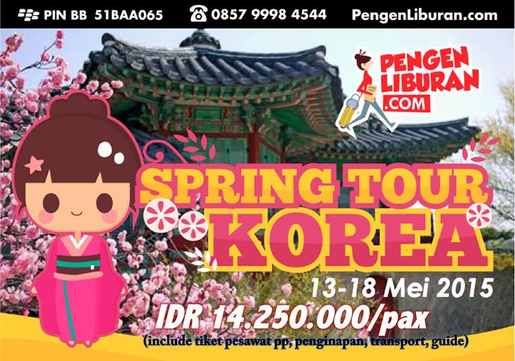 Paket Wisata Tour Korea Spring Mei