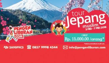 paket tour ke jepang murah muslim mei 2016